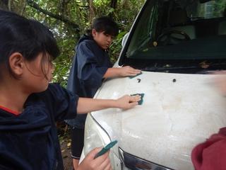 ブログ用車洗い (2)スカッチブライトスポンジブラシ.jpg